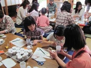 写真:香袋づくり体験教室