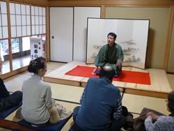 写真:日本舞踊と落語の会